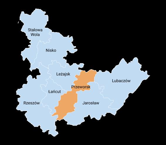 mapa przeworsk